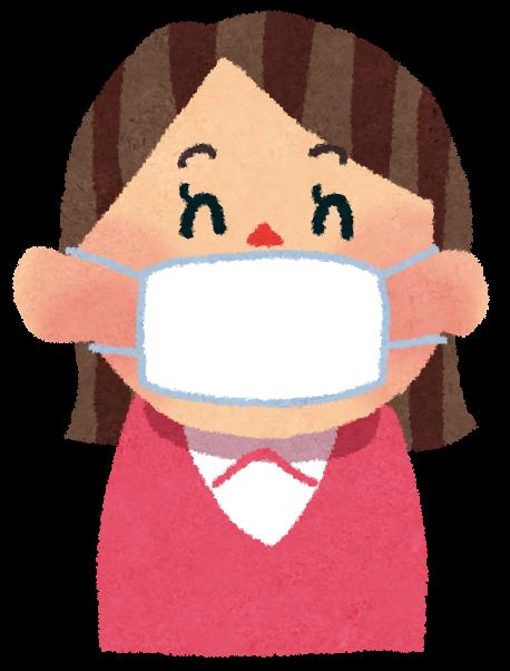 鼻出しマスク